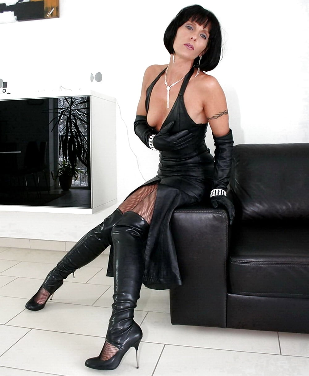 Love her sassiness mature milf leather hotwife nonnude amateur