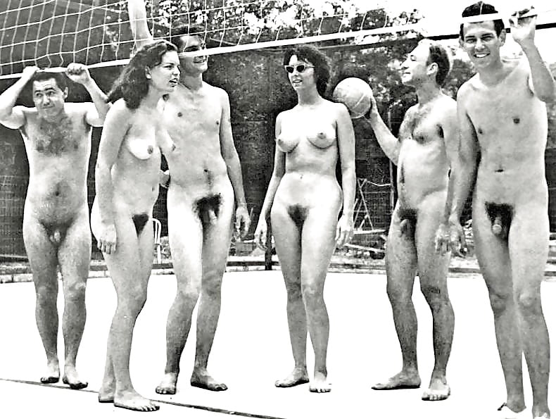 Vintage mixed nude swimming — pic 10