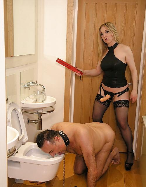 Фото раб в туалете женщин мастурбацию