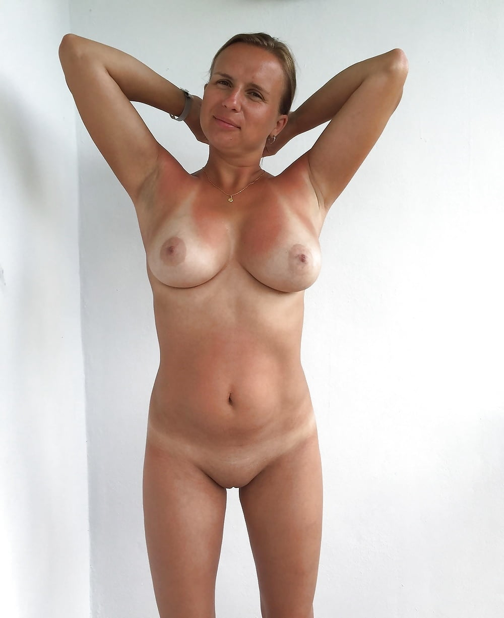 Nude pics hairy tan lines