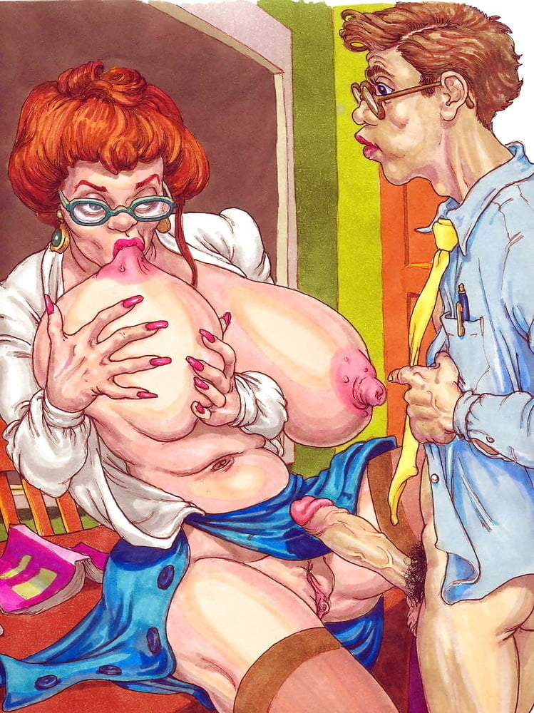 Grandmother Porn Comics