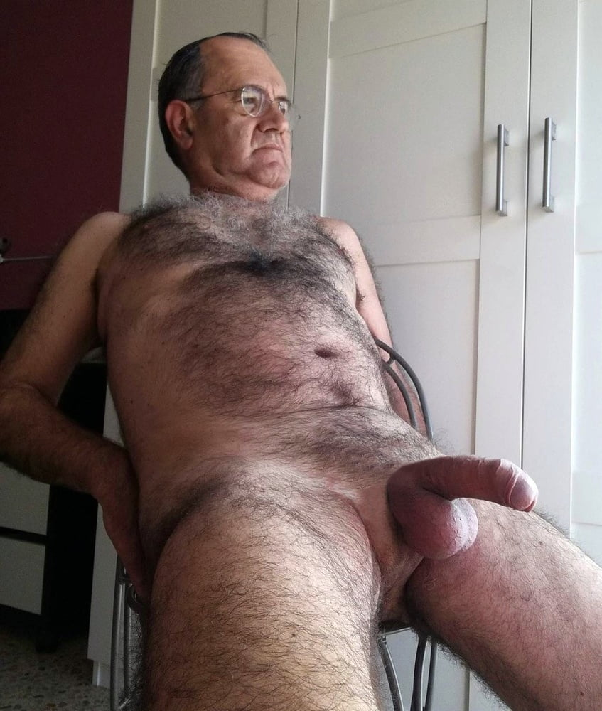 Very old grandpa cock