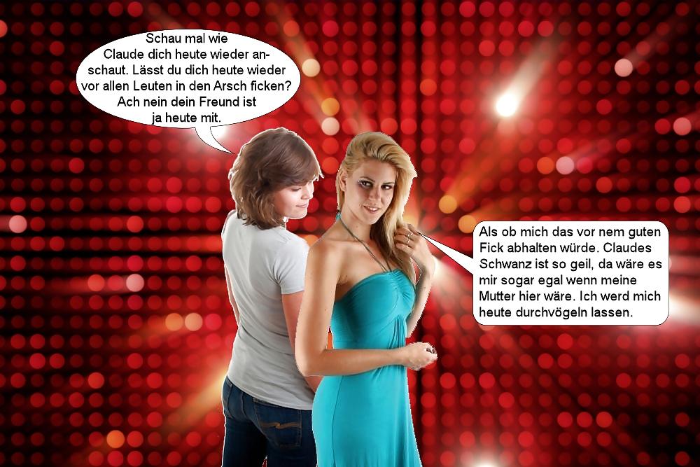 German Cuckold Captions -Cheating Girls- Deutsch - 25 Pics