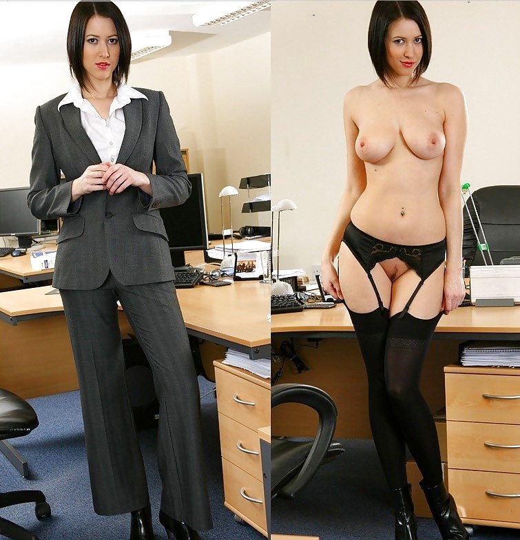 Sexy black girls who work in a office naked