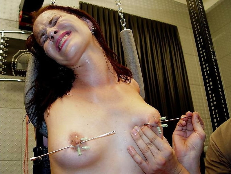 Boob torture video