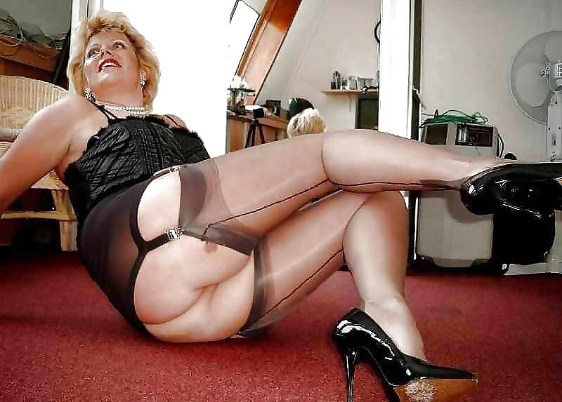 Чулка на пожилых женщинах порно фото — img 13