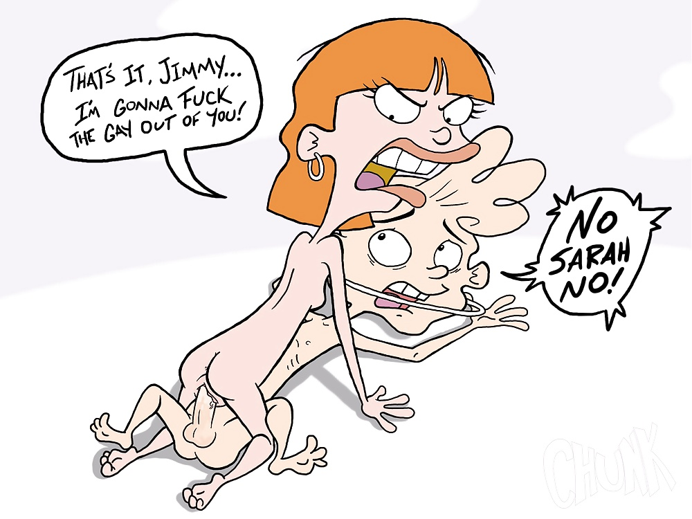 ed EDD e Eddy cartoon porno