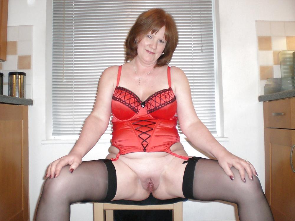 British Milfs Molly And Diana Masturbate In Black Stockings