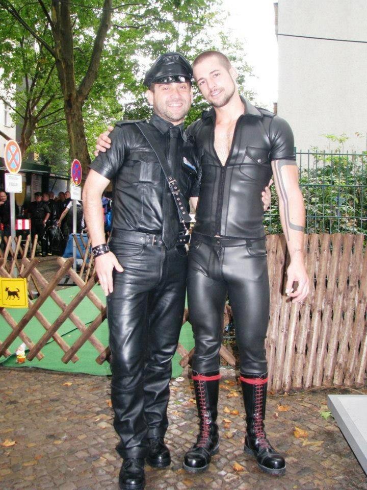 Beautiful guy in rubber gear