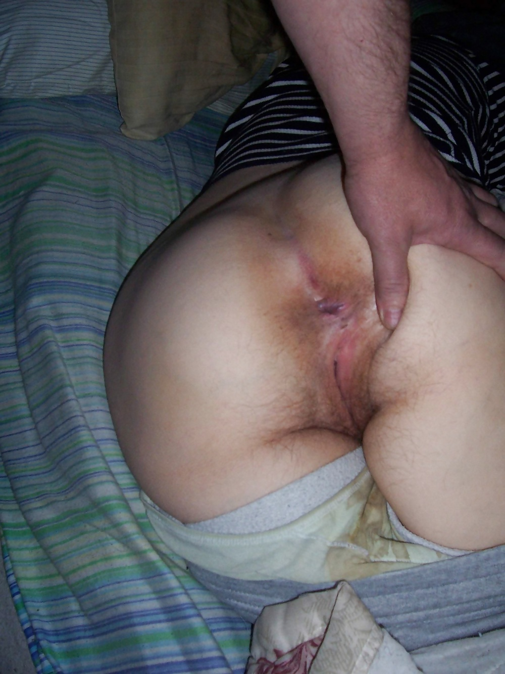 Sleeping girl gets a surprise inside her moist pussyhole