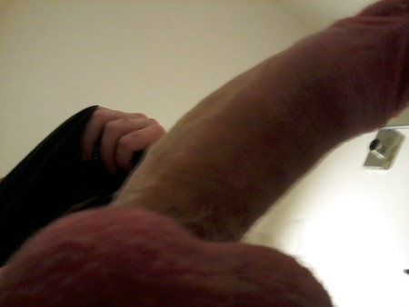 My Big fat white cock, what do you think?? Comment plz