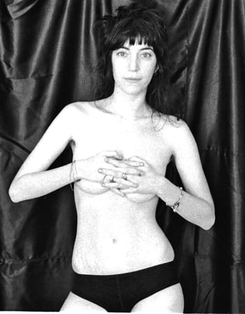 Nude patti smith Before Just