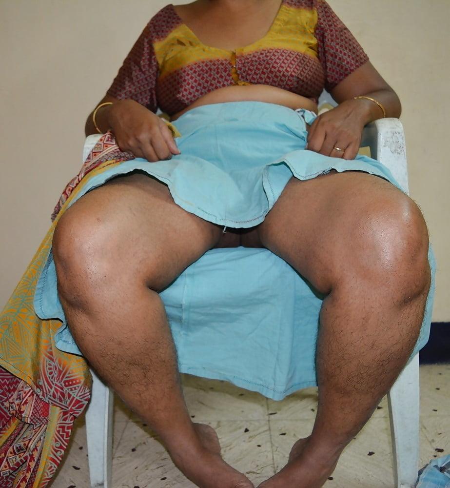 Indian aunty petticoat inner garment