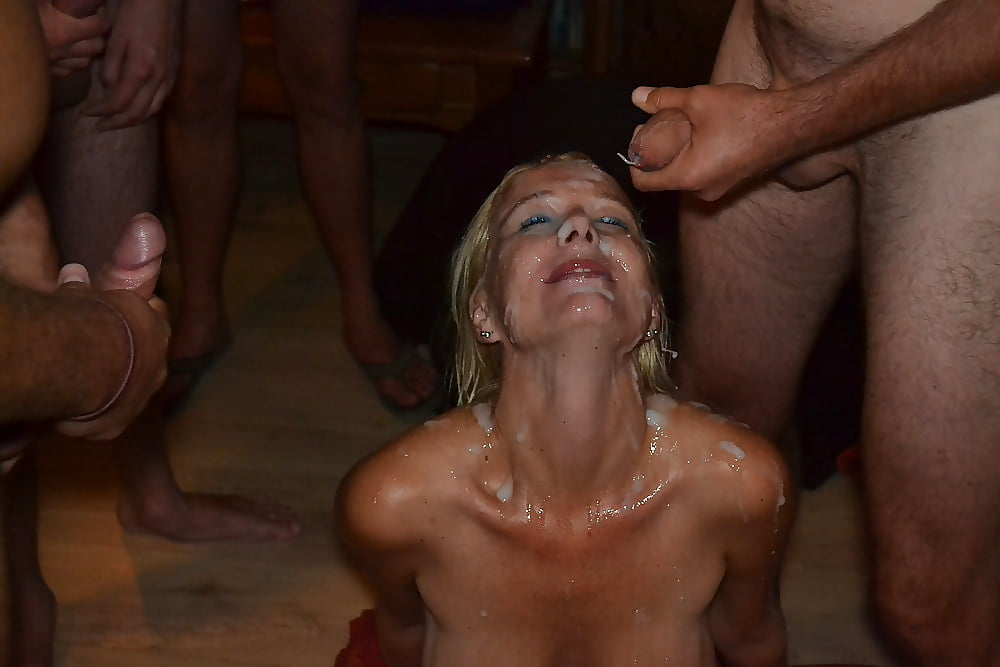 Hungarian Gipsy Monika Fisting And Bukkake Sex Party