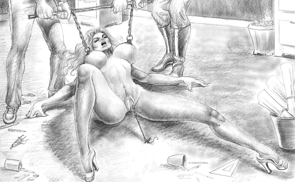 Erotic art drawing and illustrations