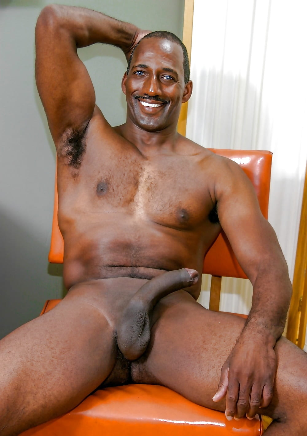 Straight black guy nude