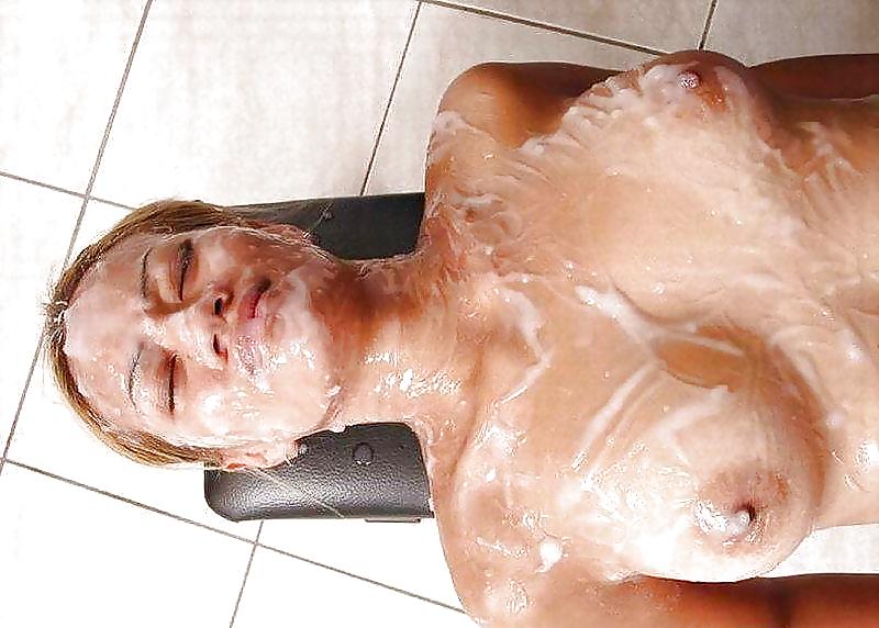 Все тело обкончали, смотреть онлайн порно ебут красивую пизду