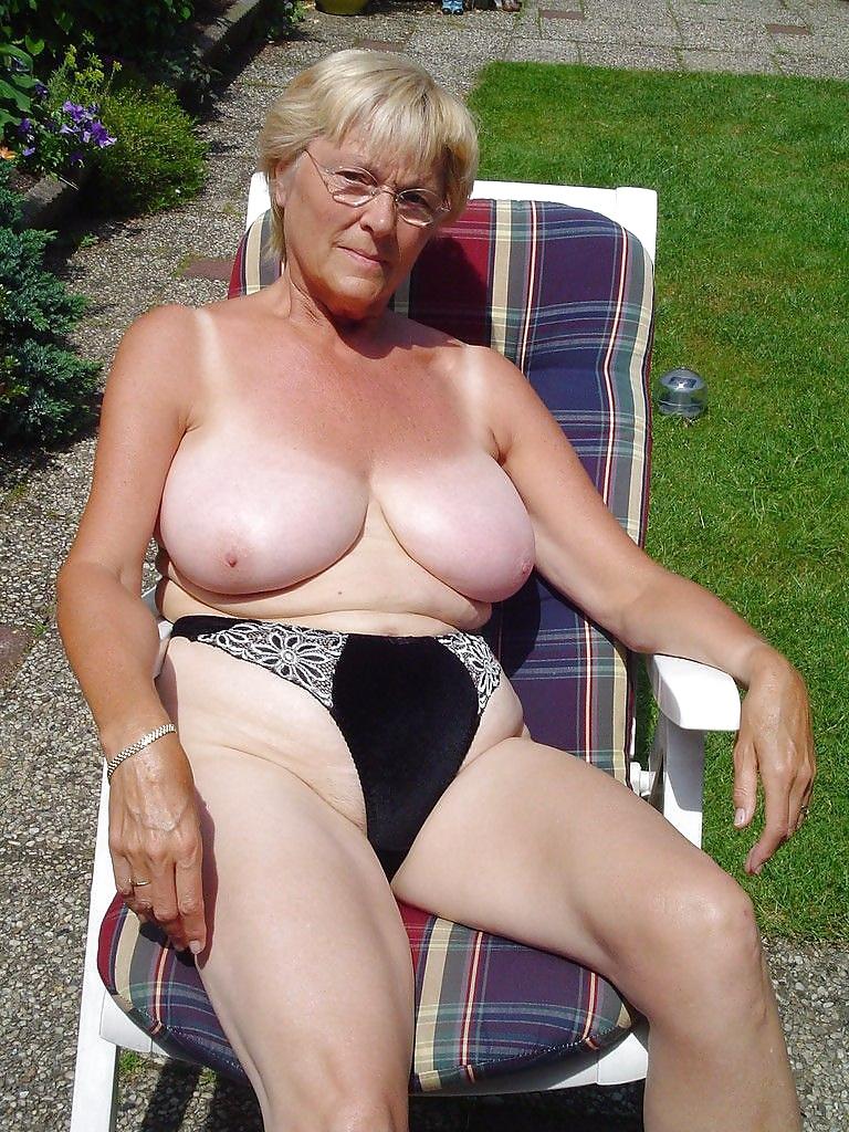 Big tits german