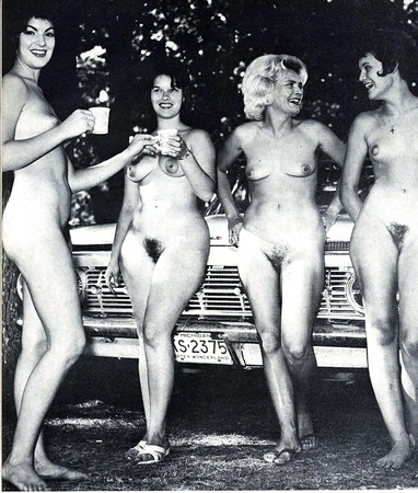 Vintage Girl Nude