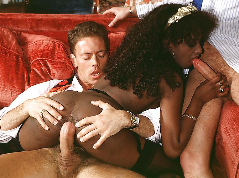 Сцены порнофильма жанин и чернокожие
