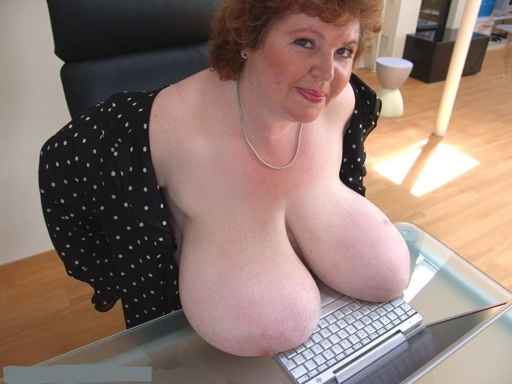 Big granny breasts porn