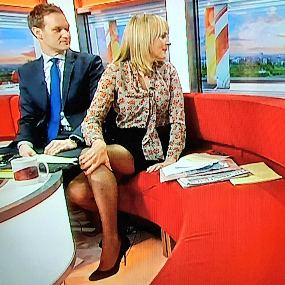 Bbc Breakfast Presenter Louise Minchin Flashes Underwear In Sheer Blouse